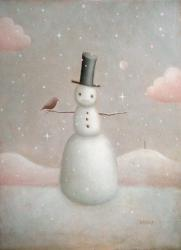 Snowman - image by Paul Barnes