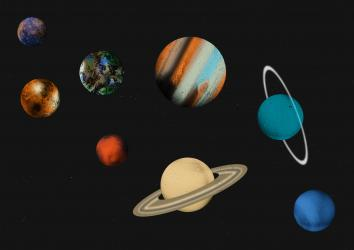 Image of the planets