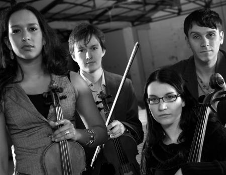 Photo: Ligeti Quartet - Gianluca de Girolamo