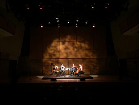 Photo: Playing at Zankel Hall